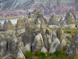 Cliff Dwellings In Cappadocia