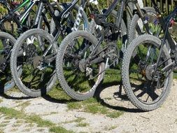 mountain bikes wheels