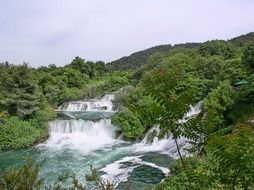 croatia national park waterfalls