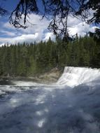 dawson falls is a picturesque place in British Colombia