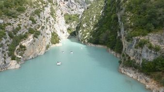 Verdon Throat In France