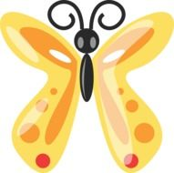 butterfly animal drawong