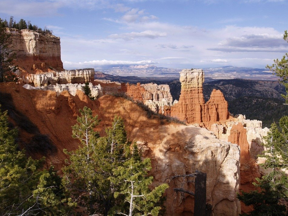 Landscape of Bryce Canyon in Utah
