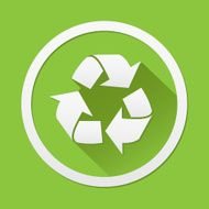 Recycle icon great for any use Vector EPS10