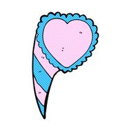 comic cartoon love heart symbol N2