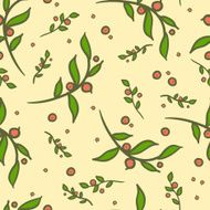08 cranberry seamless pattern