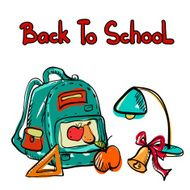 Back to school education icons cartoon set N4