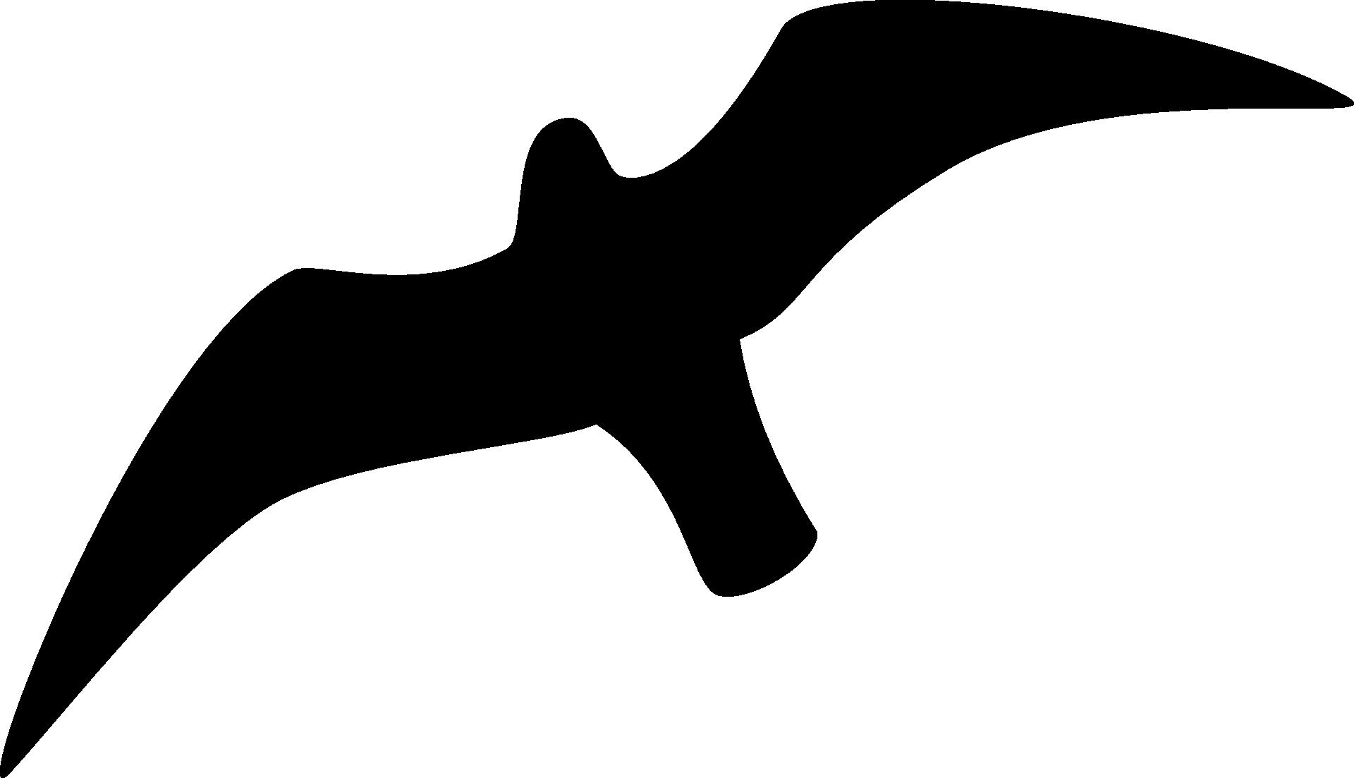 seagull silhouette clip art - HD1920×1103