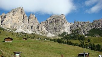 dolomites south tyrol mountains landscape