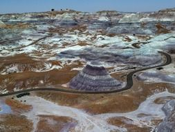 petrified forest national park tourist attraction