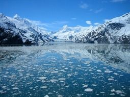 glacier bay on alaska