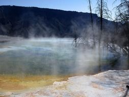 yellowstone national park wyoming tourist attraction