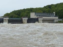 dam on the Danube River