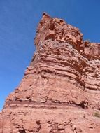 Picture of red rock in Utah