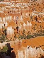 Rocks in Bryce Canyon, USA