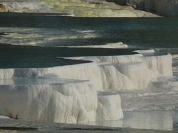 lime sinter terrace of pamukkale