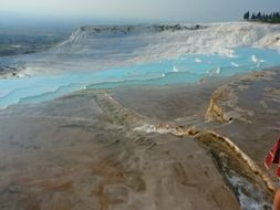 beautiful view of pamukkale