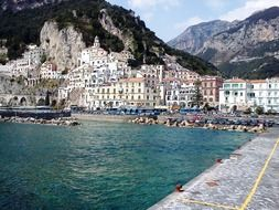 picturesque coast of Italy