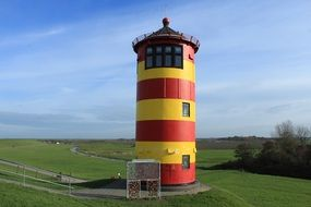 lighthouse on east frisia