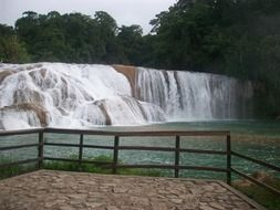 Waterfall in Chiapas,Mexico