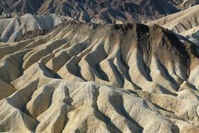 death valley zabriskie point in California USA