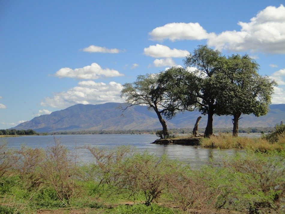 picturesque nature of Zambia