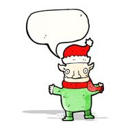 christmas elf cartoon character N2