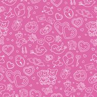 Seamless wedding patterns N4