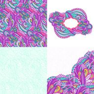 Wavy pattern element set