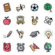 Back to School Icon N11