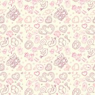 Seamless wedding patterns N6