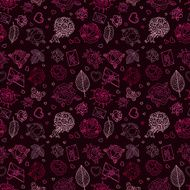 Seamless wedding patterns N7