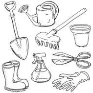Gardening tools collection N2