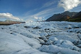 glacier ice in alaska