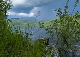 thunderstorm at canim lake