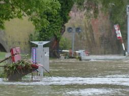 high water after danube floods