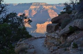 grand canyon scenic landscape