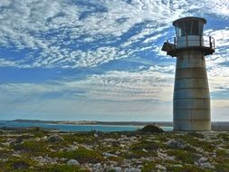 lighthouse in the innes national park