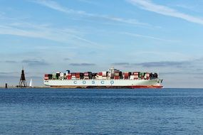 container ship cosco