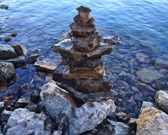 astounding stacked stones