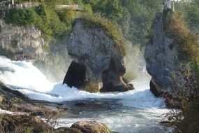 breath taking rhine falls