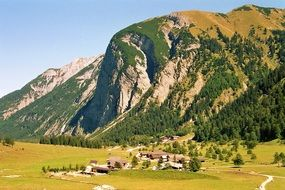 Mountains in Engalm