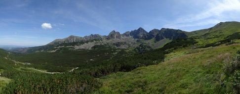tatry poland landscape mountains panorama