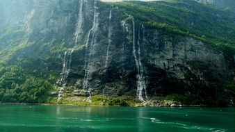 Beautiful landscape of Fjord in Norway