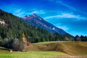 valley with mountains austria landscape