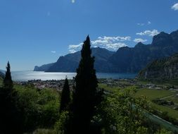 holiday on garda lake Italy