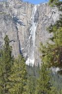 yosemite water waterfall