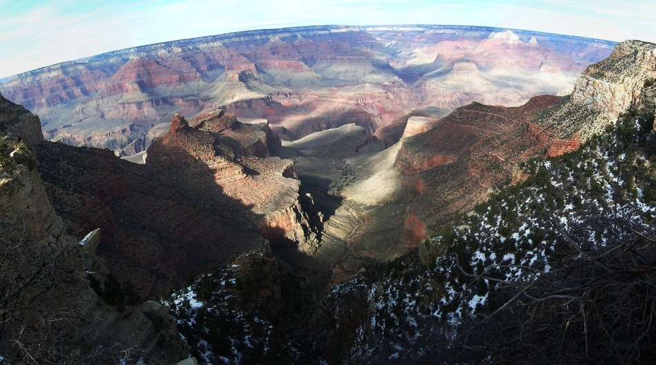 scenic panorama of wild rocks, usa, arizona, grand canyon