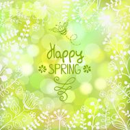 Spring background N6