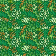 abstract floral pattern N8